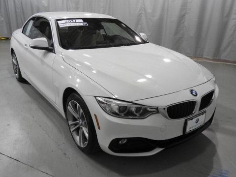 Certified Pre-Owned 2017 BMW 4 Series 430i xDrive Convertible SULEV