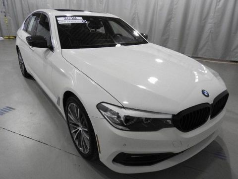 Certified Pre-Owned 2018 BMW 5 Series 530i xDrive Sedan